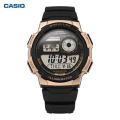 카시오 AE-1000W-1A3VDF 디지털 남성 우레탄시계 39mm_(1434519)