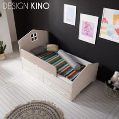 디자인키노 어반 주니어 슈퍼싱글 침대 SS 세트 + 플래티넘 매트리스