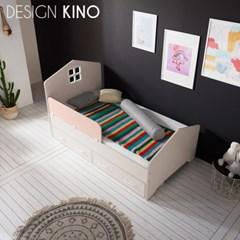 디자인키노 어반 주니어 슈퍼싱글 침대 SS 세트 + 노블 매트리스
