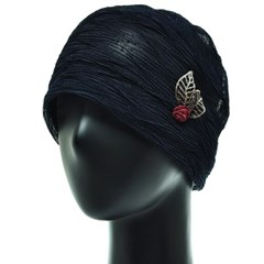 [플릭앤플록]IAS02.링클 씨스루 여성 비니 엄마 모자