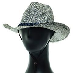 [플릭앤플록]IAY02.내츄럴 밀짚 카우보이 웨스턴 모자