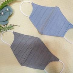 빨아쓰는 여름 얇은 린넨 필터교체형 중형 일회용 일반마스크