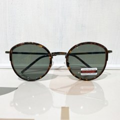 호피 배이지 블랙 선글라스 안경테 UV400