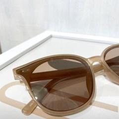 베이지 블랙 연예인 패션 뿔테 안경 선글라스 UV400
