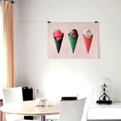 패브릭 포스터 F330 여름 시원한 그림 액자 아이스크림