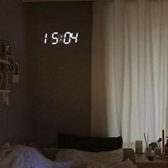 [반짝조명] LED 무소음 벽시계 (대)