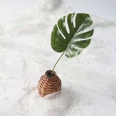 중대형 몬스테라잎 조화 / 트로피칼 인테리어 소품