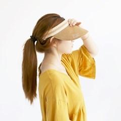 여성 왕골모자 밀짚모자 여름모자 모자[SW-6 모던 왕골 썬캡]