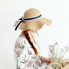 여성 왕골모자 밀짚모자 여름모자 모자[SW-2 썸머앵글 왕골햇]