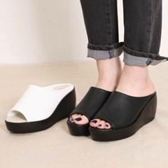 kami et muse Platform wedge heel slippers_KM20s148