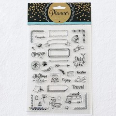 Planner Journal Clear Stamp 7