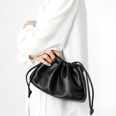 만두 복조리 크로스백 여성 가죽 가방 숄더백 핸드백 LAELME-SC