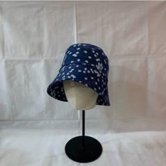 플라워 빈티지 패션 숏챙 깊은 버킷햇 벙거지 모자
