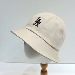 LA로고 영문 빈티지 스트릿 패션 버킷햇 벙거지 모자
