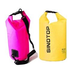 여름 물놀이 수영 방수 가방 드라이백 15L