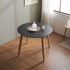가구데코 마크 HPL 블랙 1000 원형 테이블 NE0172