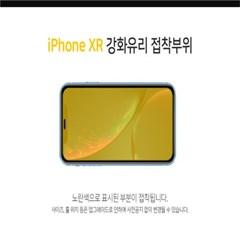 솔츠 아이폰 XR 풀커버 강화유리 방탄 액정보호필름