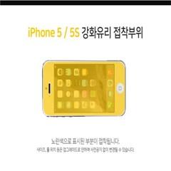 솔츠 아이폰5 5S 5C 5SE 강화유리 방탄 액정보호필름