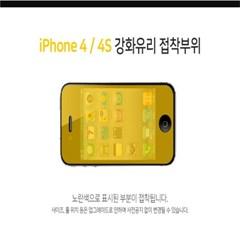 솔츠 아이폰4S/4용 강화유리 필름 액정보호 방탄필름
