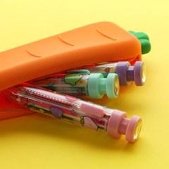 핑크풋 당근 8색 반짝이 젤펜(0.5mm)랜덤배송