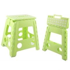 다용도 휴대용 접이식 의자 대형 1개(색상랜덤)