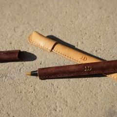 이태리 최고급가죽 가죽 펜커버 (무료각인) [Pueblo Leather]