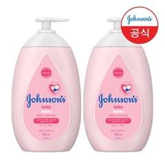 [존슨즈] NEW 핑크로션 500ml x2개