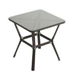 스타카페 라탄 사각테이블