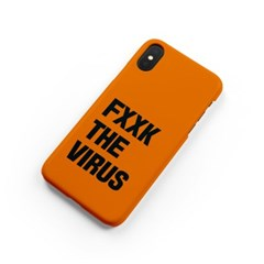 FXXK THE VIRUS_orange [하드/카드슬롯]