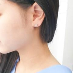 [오팔하우스]925Silver 진주 큐빅 귀걸이