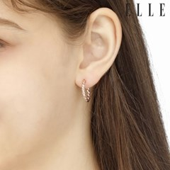 14K 엔틱 링 귀걸이 (gold pin) ELGPEE287_(990149)