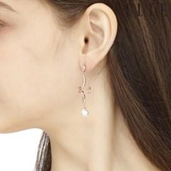 14K 샹들리에 진주 귀걸이 (gold pin) ELGPEE278_(990145)