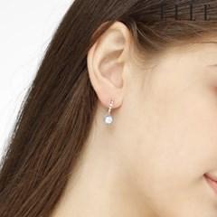 14K 라운드 블루밍 원터치 귀걸이 (gold pin) ELGPEE275_(990150)