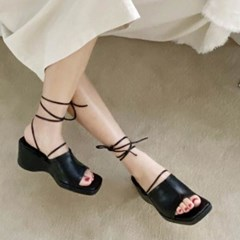 kami et muse Long ankle strap wedge sandals_KM20s161