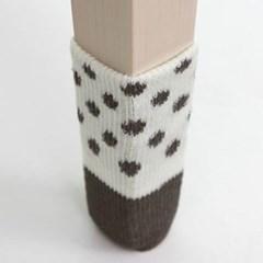 다용도 의자발커버 4개1세트(색상랜덤)
