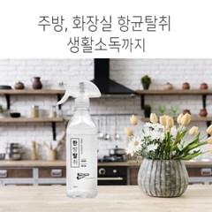 시나몬 생활탈취제 소독제 천연한방성분 증류수 500ml