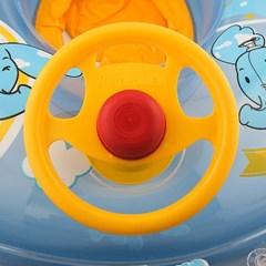 자동차 보행기튜브(3∼5세용)/유아용 물놀이 팬티튜브