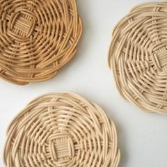 라탄공예 기초 컵받침 만들기 - 라탄 코스터 동영상 강의 DIY KIT