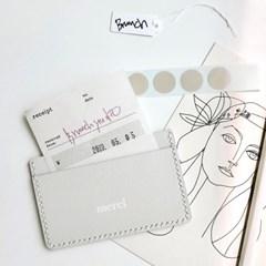 [텐텐클래스/홍대가죽공예] 프랑스감성, 베이직카드지갑 만들기