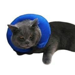 강아지 고양이 튜브형 넥카라