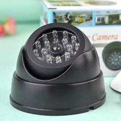 돔형 360도 CCTV 모형 카메라 1개(색상랜덤)