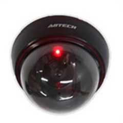 돔형 블랙 CCTV 모형 카메라 1개