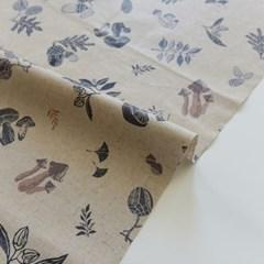 [Fabric] 가을숲 린넨 라미네이팅