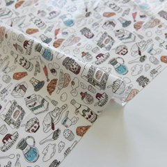 [Fabric] 베이킹 레시피 코튼 라미네이팅