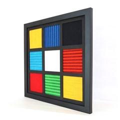 [패브릭피쉬] 액자 모자이크 라티스 R2 30x30
