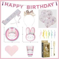 버니 시리즈 올인원 파티 패키지 Bunny all in one party package