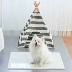 강아지 고양이 쿨매트 여름 방석 엔지니어스톤 대리석 침대