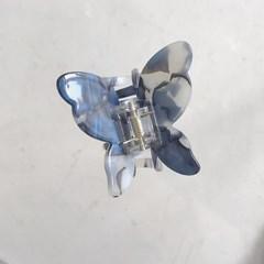 [헤어집게핀] 플러피 나비 헤어클립 ver.1