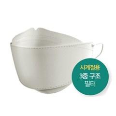 솔래 kF94 일회용 국내생산 마스크 대형 1매