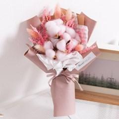 라그라스목화꽃다발 32cmP 조화 FMBBFT_(1818511)